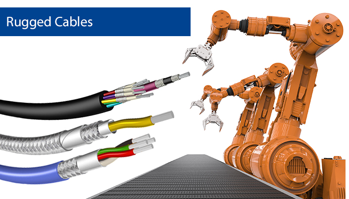 Roughnet™ - Ruggedized Robotic Cables