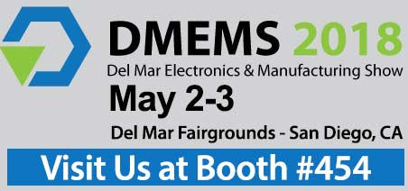Visit National Wire at Del mar Electronics Show May 2-3, 2018 San Diego CA booth 454
