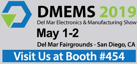 Visit National Wire at Del mar Electronics Show May 1-2, 2019 San Diego CA booth 454