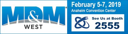 Visit National Wire at MD&M West February 5-7 2019 in Anaheim CA