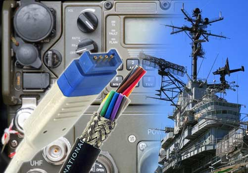 National Wire Stock Shielded Signal and Control Cables for Military